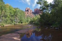 Roca de la catedral, Sedona Arizona Imagen de archivo libre de regalías