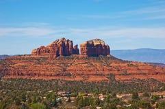 Roca de la catedral, Sedona, Arizona Imagenes de archivo