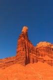 Roca de la chimenea Fotos de archivo