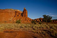 Roca A de la chimenea Foto de archivo libre de regalías
