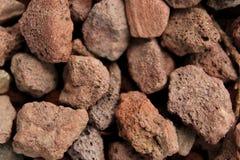 Roca de la lava Imagen de archivo libre de regalías