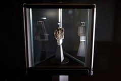 Roca de la luna en el museo de ciencia en Londres Fotos de archivo