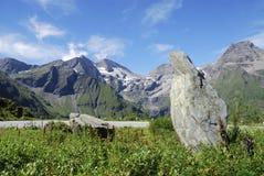 Roca de la montaña foto de archivo libre de regalías