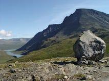 Roca de la montaña Fotografía de archivo libre de regalías