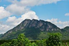 Roca de la montaña Imagen de archivo