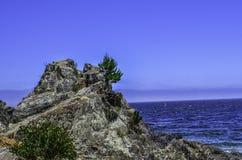 Roca de la naturaleza Fotografía de archivo