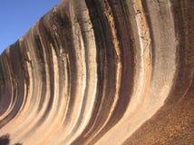 Roca de la onda Fotografía de archivo libre de regalías