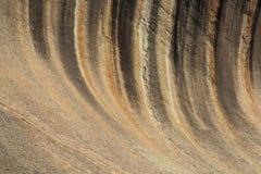 Roca de la onda Imagenes de archivo
