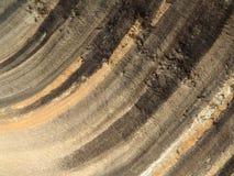 Roca de la onda Fotos de archivo libres de regalías