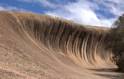 Roca de la onda Foto de archivo libre de regalías