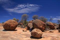 Roca de la onda, Australia occidental Foto de archivo libre de regalías