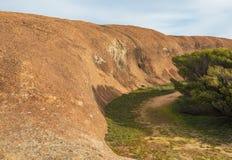 Roca de la onda en el parque de la fauna de la roca de la onda Fotografía de archivo