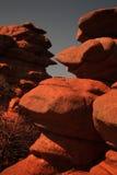 Roca de la piedra arenisca Fotografía de archivo libre de regalías