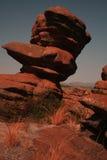 Roca de la piedra arenisca Foto de archivo