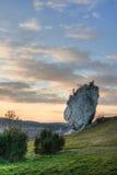 Roca de la piedra caliza Fotos de archivo