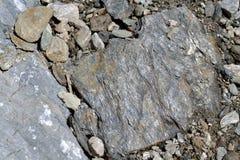 Roca de la pizarra - primer Foto de archivo libre de regalías