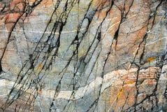 Roca de la playa Imagen de archivo
