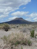 Roca de la tabla - Oregon central Imágenes de archivo libres de regalías