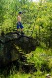 Roca de la tortuga Fotos de archivo