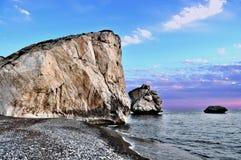 Roca de los Aphrodites Fotos de archivo libres de regalías