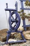 Roca de madeira romena feito a mão da girar-roda imagem de stock royalty free