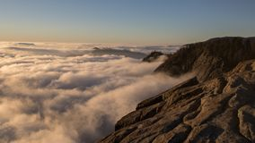 Roca de Morro del parque nacional de secoya Foto de archivo