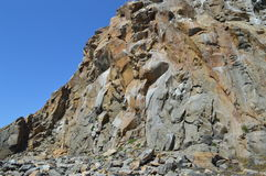 Roca de Morro en la bahía California de Morro Foto de archivo