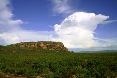 Roca de Nourlangie Imagen de archivo libre de regalías