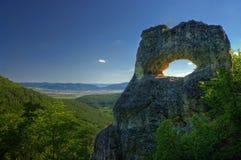 Roca de Okoto foto de archivo