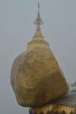 Roca de oro, Birmania Myanmar Fotografía de archivo
