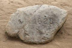 Roca de Plymouth Foto de archivo libre de regalías