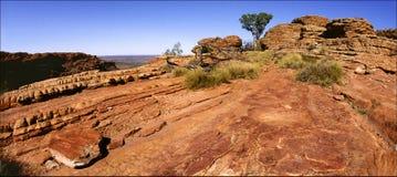Roca de reyes Canyon. Fotografía de archivo