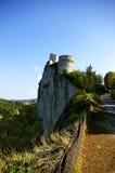 Roca de San leo fotografía de archivo