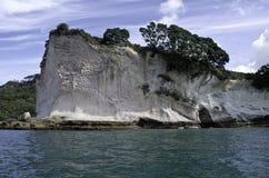 Roca de Shakespeare, Nueva Zelanda Foto de archivo libre de regalías