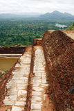 Roca de Sigiriya imagen de archivo