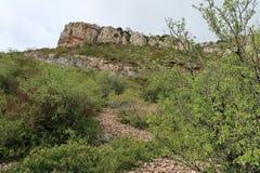 Roca de Solutré Imagenes de archivo