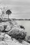 Mar Stamford Connecticut Fotos de archivo libres de regalías