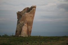 Roca de Teter, el condado de Greenwood Kansas Fotografía de archivo