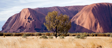 Roca de Uluru - de Ayers Fotos de archivo