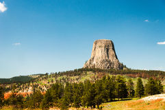 Roca de Wyoming Fotos de archivo libres de regalías