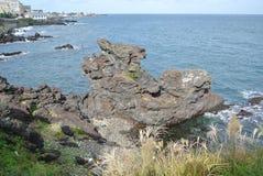 Roca de Yongduam (Dragon Head Rock) Fotografía de archivo