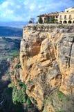 Roca del ââon de la ciudad. Ronda foto de archivo libre de regalías