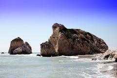 Roca del Aphrodite Imagen de archivo