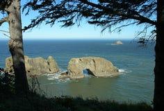 Roca del arco Foto de archivo libre de regalías