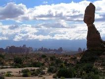 roca del balance Fotografía de archivo libre de regalías