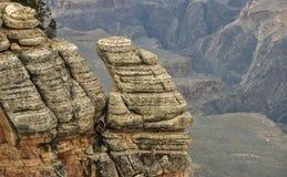 Roca del barranco Fotos de archivo