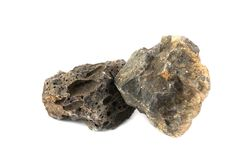 Roca del basalto para las industrias imagen de archivo libre de regalías