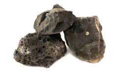Roca del basalto para las industrias foto de archivo