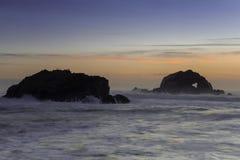 Roca del corazón Imagen de archivo libre de regalías