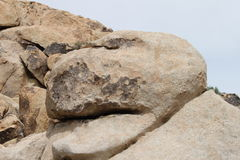 Roca del desierto imagen de archivo